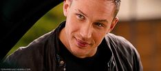 Tom Hardy - Eyes and lips (gif). I'm dying here. He's so beautiful.