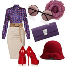 """""""red"""" by belezadeester on Polyvore"""