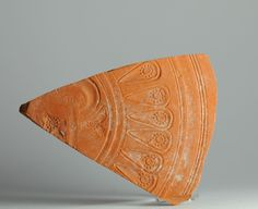 African red slip ware sherd Chi Rho 74