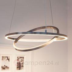 LED-hanglamp Lovisa met twee LED-ringen 7620002