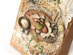 Sizzix UK design team member  @Ania Dabrowska  shares a tutorial for making a mixed media embellished gift bag featuring Framelits dies.