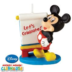 Disney Mickey Mouse Clubhouse Candle | 1ct