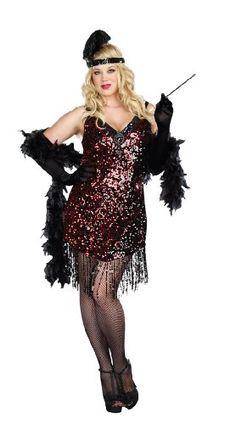 Dames Like Us Adult Costume - Plus Size 1X/2X Dreamgirl https://www.amazon.com/dp/B00EG91ZA0/ref=cm_sw_r_pi_dp_U_x_bOWCBbASBNR1Q