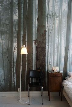 .Love this.  Forest in the house, are you kidding?