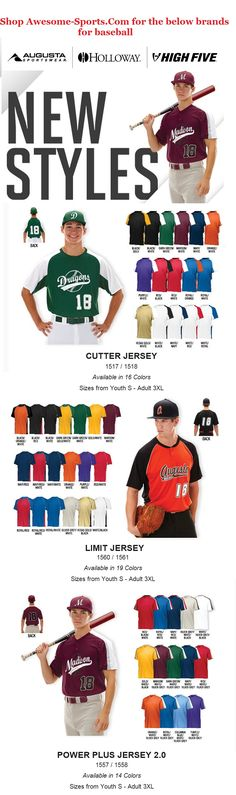 Shop our site for baseball apparel you need to look good on the diamond. Our wide array of baseball jerseys, baseball pants, baseball socks, and baseball belts are perfect for the big game, practice or just playing ball in the field. Baseball Uniforms, Team Uniforms, Baseball Jerseys, Baseball Shop, Baseball Socks, Custom Socks, School Fundraisers, Team Names