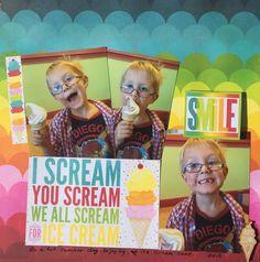 I Scream For Ice Cream - Scrapbook.com