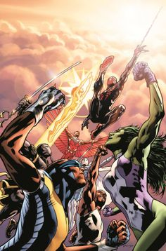 Mighty Avengers #1 - Bryan Hitch (Variant) Cover