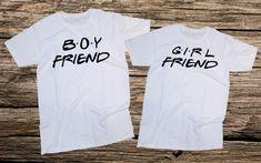 Boy Friend Girl Friend,Matchig couple set,couple T-shirt,boyfriend gift,Girlfriend gift,unisex,100% cotton,gift
