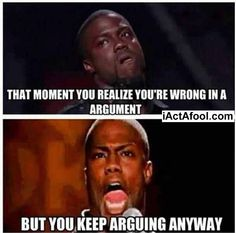 Kevin Hart:D Sometimes but its rare