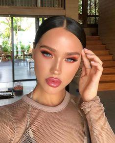 10 Ultimate Summer Makeup Trends That Are Hotter Than The Summer Days Glowy Makeup, Makeup On Fleek, Flawless Makeup, Gorgeous Makeup, Natural Makeup, Bronzer Makeup, Makeup Trends, Makeup Inspo, Makeup Inspiration