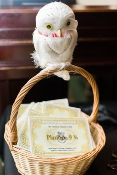 mariage-theme-harry-potter-chouette