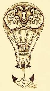 Image result for hot air balloon tattoo
