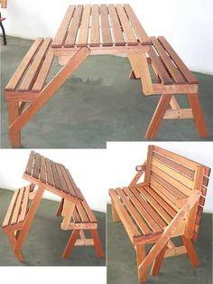 20 ideas for wooden patio doors woods Folding Furniture, Pallet Patio Furniture, Diy Furniture Plans, Diy Furniture Projects, Woodworking Projects Diy, Woodworking Furniture, Wood Projects, Woodworking Plans, Woodworking Equipment