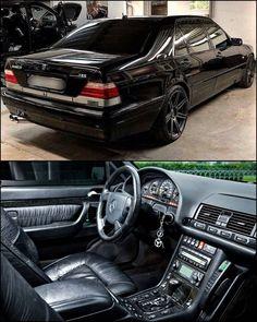 Mercedes S 600, Mercedes Benz Sports Car, Mercedes W140, Custom Mercedes, Mercedes Benz Maybach, Mercedes Interior, Benz S500, Merc Benz, Mercedez Benz