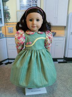 1930-1940's  School Jumper  Dress  / Clothes for American Girl  Doll
