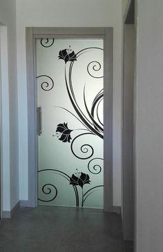 pin by piroska hajdu on fali polcok | pinterest | shelves, wall ... - Porte In Vetro Decorate Moderne