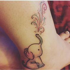 Kuvahaun tulos haulle flying elephant tattoo