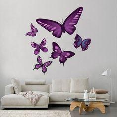 Ταπετσαρία με πεταλούδες