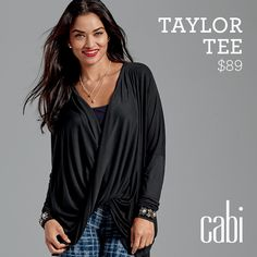 Welcome Warmth! Limited editions. #cabi Taylor Tee