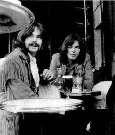 Rick Wright, David Gilmour