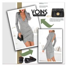 """""""YOINS"""" by janee-oss ❤ liked on Polyvore featuring mode"""
