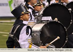 Walled Lake Central High School Marching Band, Michigan, 2014