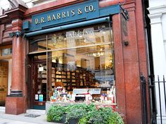 D R Harris - London-D.R. Harris is an English chemist and apothecary founded on St. James Street, London in 1790.