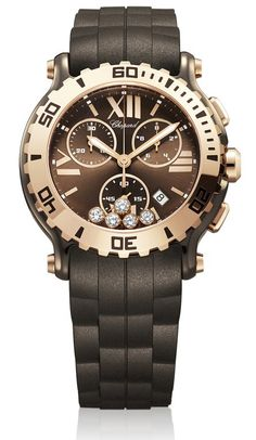 Special Offers Available Click Image Above: Chopard Happy Sport Chrono Ladies Watch 288515-9003