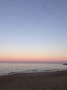 Sunset in San Benedetto del Tronto, Italy