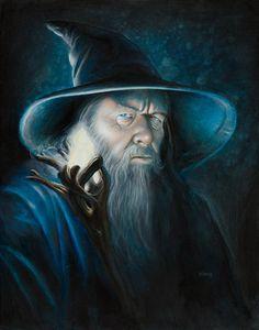 Gandalf Illuminated (fin) by ~kohse by my nephew :) Hobbit Art, O Hobbit, Tauriel, Legolas, Jrr Tolkien, Gandalf The Grey, Mago Tattoo, Lotr Trilogy, The Hobbit Movies