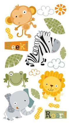 EK Success - Sticko Classic Collection - Stickers - Jungle Buddies at Scrapbook.com $1.42