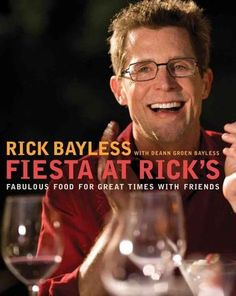 Rick Bayless is el mejor cocinero! His flavors are so intense and layered that each bite brings tears to your eyes and that's not just the chili peppers! love everything about Rick; I'm so happy he sh