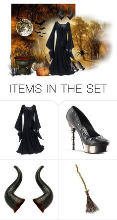 """""""Halloween"""" by thicke-madame ❤ liked on Polyvore featuring art"""