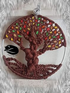 Tree of life in cotone