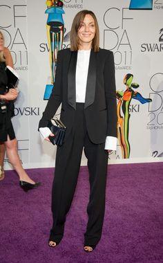 Phoebe Philo wearing Céline @ the 2011 CFDA Awards, June 7, 2011