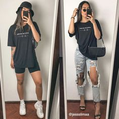 Lazy Outfits, Teen Fashion Outfits, Mode Outfits, Retro Outfits, Cute Casual Outfits, Grunge Outfits, Short Outfits, Everyday Outfits, Summer Outfits