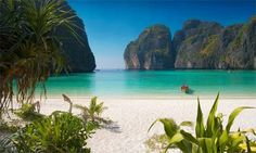 Thailand's Phi Phi island near Phuket (where The Beach was filmed). Best beach ever! Beaches In The World, Places Around The World, Phuket, Dream Vacations, Vacation Spots, Jamaica Vacation, Vacation Ideas, Places To Travel, Places To See