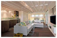 A Small, Smart, Space - modern - Living Room - Hawaii - Fine Design Interiors, Inc