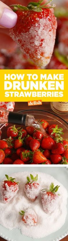 Your Squad Needs To Know About Drunken Strawberries