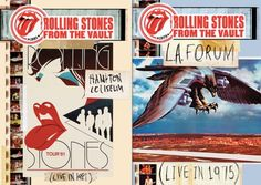 The Rolling Stones to release concert films From The Vault! Hampton 1981 and LA Forum 1975 will be released in November 2014