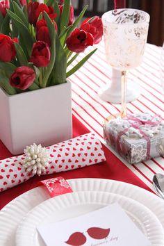 Date Night Valentine's Table