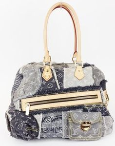 Louis Vuitton Limited Edition Grey Monogram Patchwork Bowly Shoulder Bag. Get one of the hottest styles of the season! The Louis Vuitton Limited Edition Grey Monogram Patchwork Bowly Shoulder Bag is a top 10 member favorite on Tradesy. Save on yours before they're sold out!