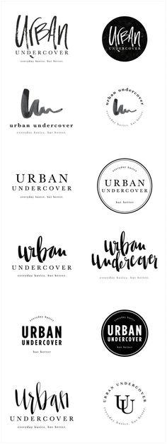 Font typography logo
