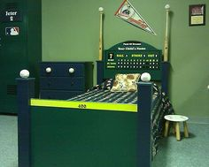 Poggys kids Baseball Bed and other custom furniture