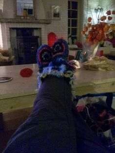 Ooakbyc winter pantoffels made for Ooakbyc her self  .