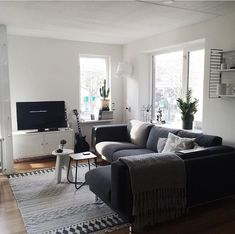 Ikea Nockeby Dark Grey Corner Lounge