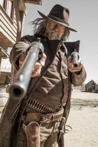 "Graham McTavish as ""Preacher""'s Saint Of Killers. Western Film, Great Western, Western Movies, Western Art, Cowboy Art, Cowboy And Cowgirl, Westerns, Preacher Amc, The Preacher"