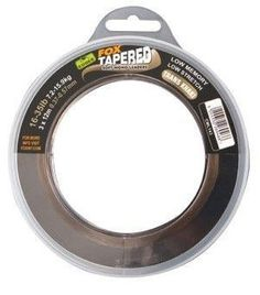 5cae6774f75c0 Fox Edges Soft Tapered Trans Khaki Leaders only £8.99 #FoxCarp  #WarringtonAnglingCentre Designed to