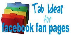 5 Tab Ideas for Facebook Fan Pages - Business 2 Blogger  - epublicitypr.com