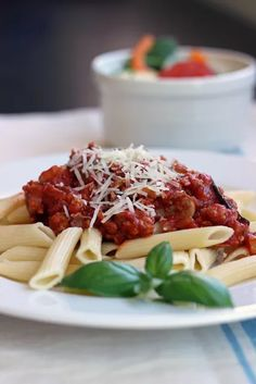 Quick Meat Sauce for Pasta - Stir up a pot of this quick meat sauce that is perfect on spaghetti or other pasta. Quick to prepare and freezer-friendly, it's a great addition to your meal rotation.